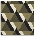 rug #1142839 | square black retro rug