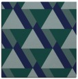 rug #1142855 | square blue abstract rug