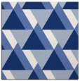 rug #1142863 | square blue abstract rug