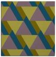 rug #1142891 | square green retro rug