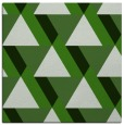 rug #1142955 | square green abstract rug
