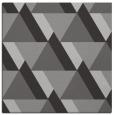 rug #1143035 | square red-orange popular rug