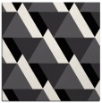 rug #1143103 | square black abstract rug