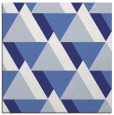 rug #1143111 | square white geometry rug