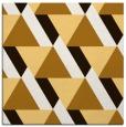 rug #1143115 | square brown retro rug