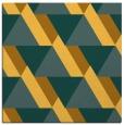 rug #1143143 | square light-orange abstract rug