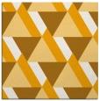 rug #1143167 | square light-orange abstract rug