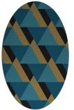 rug #1143212   oval retro rug
