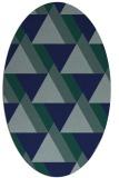 rug #1143226 | oval geometry rug