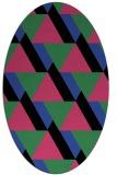 rug #1143384   oval abstract rug
