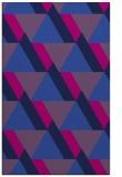 rug #1143587 |  pink retro rug