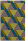 rug #1143627 |  green abstract rug