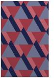 rug #1143643 |  blue-violet abstract rug
