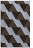 rug #1143659    blue-violet retro rug