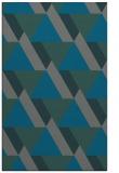 rug #1143679 |  green abstract rug