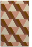 rug #1143699 |  mid-brown abstract rug