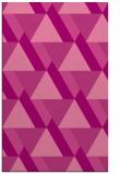 rug #1143775 |  pink geometry rug