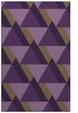 rug #1143799 |  purple retro rug