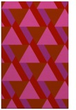 rug #1143819 |  red abstract rug