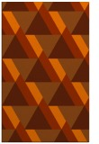rug #1143823    red-orange abstract rug