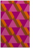 rug #1143831    red-orange abstract rug