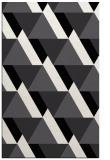 rug #1143839 |  black abstract rug