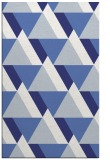 rug #1143847 |  blue geometry rug