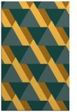 rug #1143879 |  light-orange abstract rug