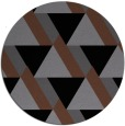 rug #1143929 | round abstract rug