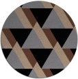 rug #1143937 | round abstract rug