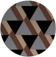rug #1143938 | round abstract rug