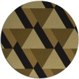 rug #1143939 | round mid-brown popular rug