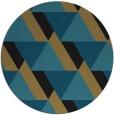 rug #1143948 | round retro rug