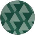 rug #1143975 | round retro rug