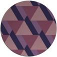 rug #1144015 | round purple abstract rug
