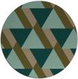 rug #1144031   round brown retro rug