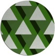 rug #1144059 | round light-green rug