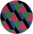 rug #1144120 | round abstract rug
