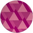 rug #1144143 | round pink retro rug