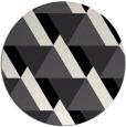 rug #1144207 | round white retro rug