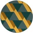 rug #1144247   round light-orange retro rug
