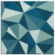 rug #1144723 | square blue-green graphic rug