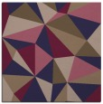 rug #1144759 | square blue-violet geometry rug