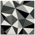 rug #1144799 | square black graphic rug