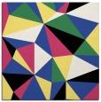 rug #1144855 | square black graphic rug