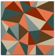 rug #1144871 | square orange popular rug
