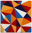 rug #1144911 | square red graphic rug