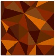rug #1144927 | square red-orange abstract rug