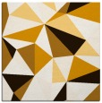 rug #1144955 | square brown graphic rug