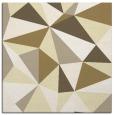 rug #1144975   square yellow abstract rug